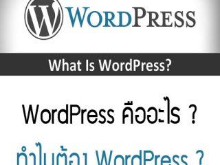 wordpress-คืออะไร
